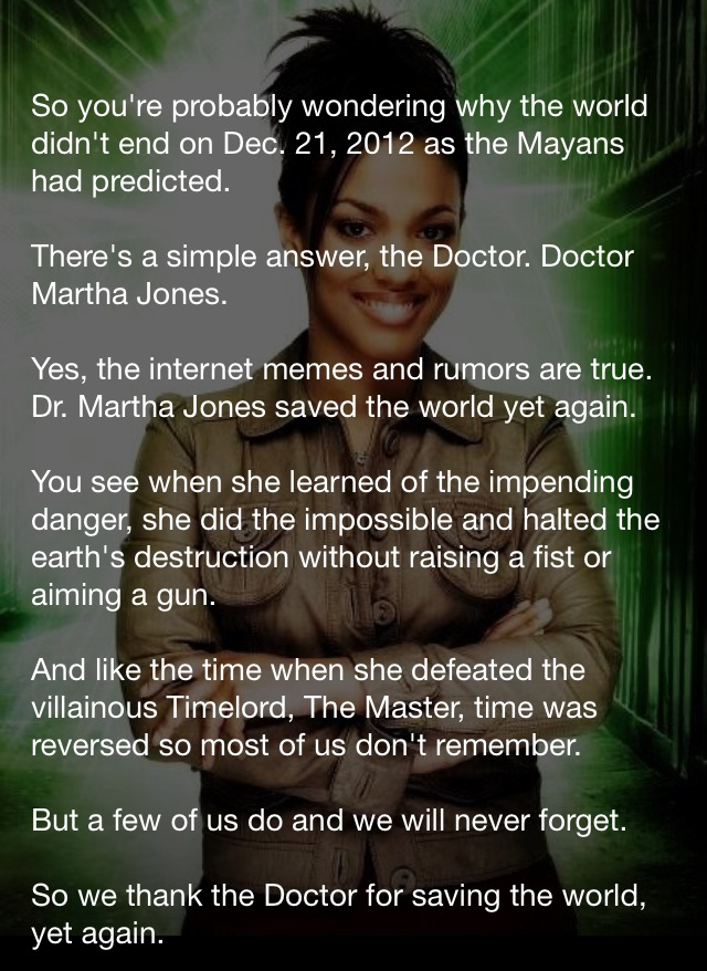 Here's To You Doctor